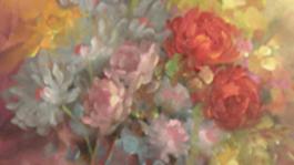 Schilderen met Gary Jenkins Impressionistische bloemen