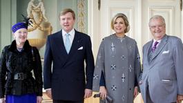 Blauw Bloed Koningspaar op staatsbezoek in Denemarken
