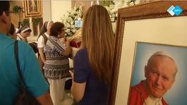 Npo Spirit 2015 - Bloed Johannes Paulus Ii Tentoongesteld