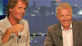 Pauw & Witteman - Interview: Wouter Bos & Tony Blair