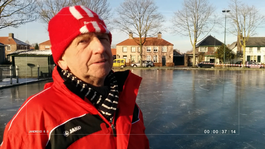 Jan schaatst in Brabant