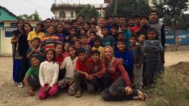 Floortje Naar Het Einde Van De Wereld - Nepal
