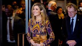 Blauw Bloed - Koningin Máxima Straalt Op Rode Loper Film Festival Rotterdam