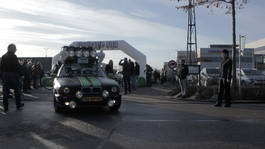 De start van de Carbage run #1