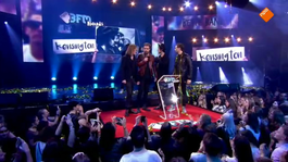 Kensington sleept award voor Beste Band in de wacht