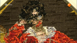 Kunstuur - Rob Scholtes 'embroidery Show'