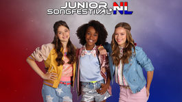 Junior Songfestival - Lisa, Amy & Shelley Op Weg Naar Ahoy