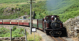 Rail Away - Groot-brittannië: Caernarfon-porthmadog-blaenau Ffestiniog