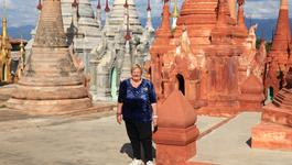 Erica Op Reis - Myanmar