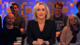 Jinek - Mark Rutte, Margje Teeuwen, Annette Gerritsen, Mark Tuitert En Cabaretier Martijn Koning