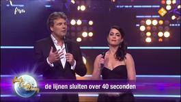Strictly Come Dancing - Liveshow 1: De Uitslag