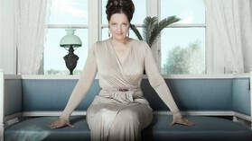 Portret van Ann Hallenberg
