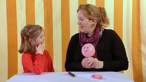 Een varken van een ballon