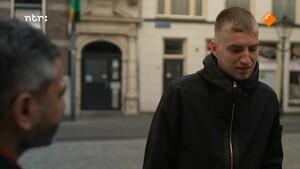 Danny op straat