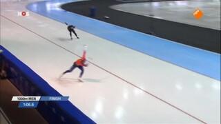 Ireen Wüst wint wereldbekerwedstrijd