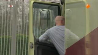Vrachtwagens moesten rijden tijdens storm