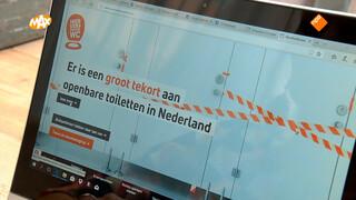 Zijn er genoeg openbare wc's in Nederland?
