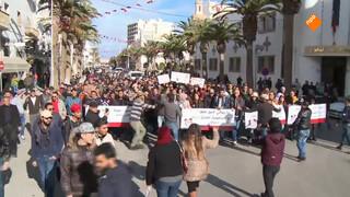 Zeven jaar na de Arabische Lente gaan Tunesiërs wéér de straat op