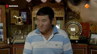 Maurice bezoekt een Mongoolse familie