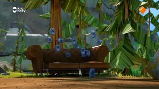 Grizzy En De Lemmingen - Lemming Trampoline