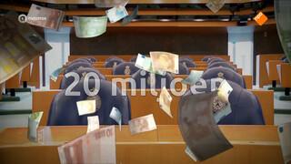 20 miljoen euro wachtgeld uitgekeerd aan oud-politici