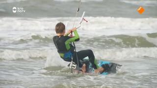 Hoe maak je een raley met een kitesurfboard?