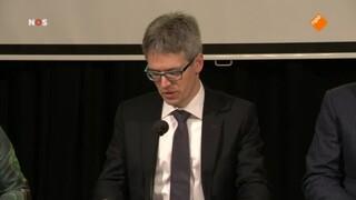 NOS Journaal 13.00 uur (Nederland 2) Persconferentie over gaswinning in Groningen