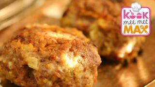 Kook mee met MAX Groene koolstamp met speculaas-gehaktballetjes