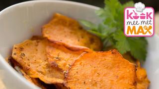 Kook mee met MAX Zoete aardappelgratin met pittige kalkoen