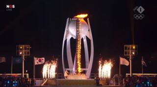 Openingsceremonie Olympische Spelen