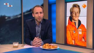Einde Spelen snowboarder Van der Velden