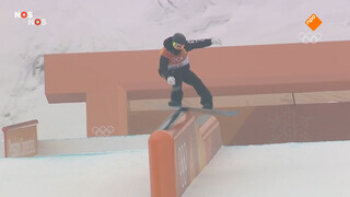 Spectaculaire kwalificatie slopestyle