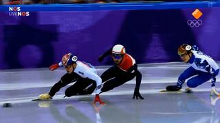 Sjinkie Knegt wint zilver op 1500m