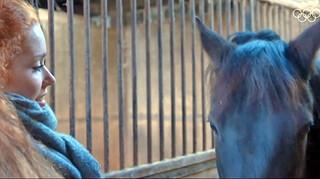Antoinette de Jong: Genieten van pony Heino