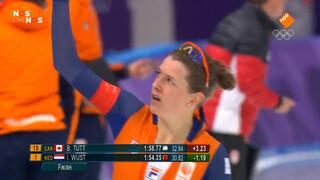 Goud voor Ireen Wüst op 1500 meter