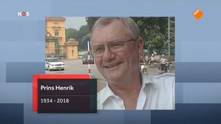 Deense prins Henrik overleden (83)