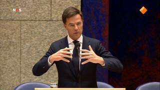 Kamerminderheid motie wantrouwen premier Rutte