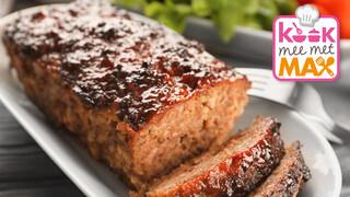 Kook mee met MAX Reibekuchen met appelstroop-zuurkool en gehaktbrood