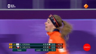 Olympisch Kampioen Yvonne van Gennip over goud Esmee Visser