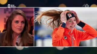 Olympisch Kampioen Yvonne van Gennip over het goud van haar pupil Esmee Visser