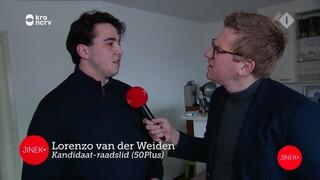 Jaïr bezoekt de jongste kandidaat-raadsleden van Nederland