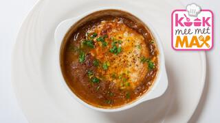 Kook Mee Met Max - Uiensoep Met Gruyèremuffins