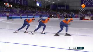 De race die de Nederlandse mannen brons opleverde