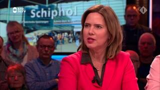Cora van Nieuwenhuizen over het uitstel van de uitbreiding van Lelystad Airport