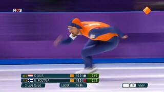 Kjeld Nuis wint goud op 1000 meter
