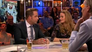 Jinek Jim van der Zee, minister Hugo de Jonge, Emilie van Outeren en Jort Kelder