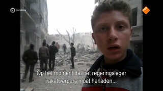 Noodkreet van tiener voor gruwel in Syrië: 'We weten dat jullie moe worden van bloederige foto's'