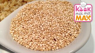 Kook Mee Met Max - Quinoa Met Boerenkoolpesto En Portobellopizza's