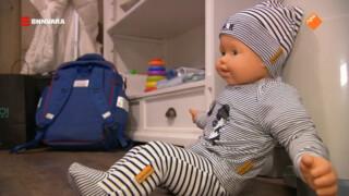 Een baby EHBO-cursus.