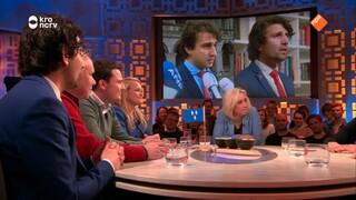 Martijn Koning met 9 lokale helden uit de campagnefilmpjes